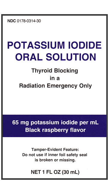 Liquid KI Oral Solution