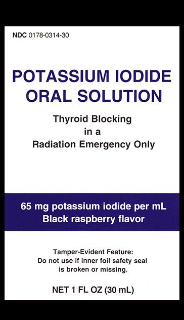 Liquid KI Oral Solution